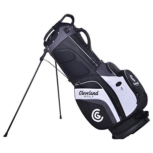 Cleveland Golf Stand Bag Blk/Charcoal/Wht
