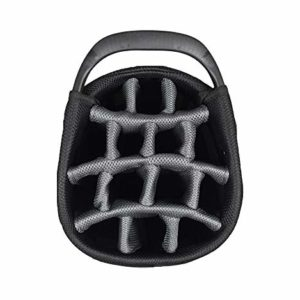 Hot-Z Golf 3.5 Cart Bag (Gray/Black (Zip Off Pocket))