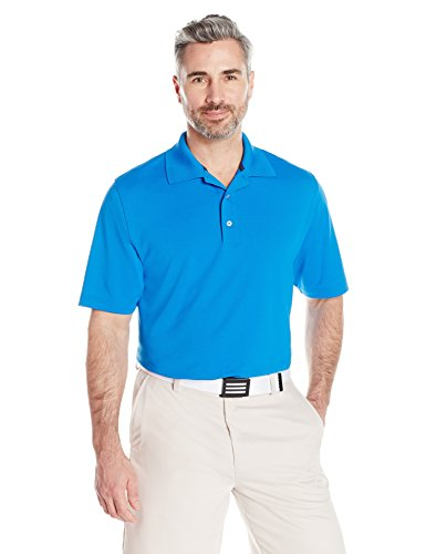 Amazon Essentials Men's Regular-Fit Quick-Dry Golf Polo Shirt, Electric Blue, X-Large