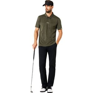 Oakley Men's Chino Icon Golf Pants,34,Blackout