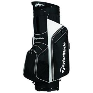TaylorMade 2017 Golf Bag TM Cart Bag 5.0 BlkWht, Black/White
