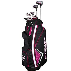 Callaway Women's Strata Complete Golf Set (11-Piece, Left Hand, Graphite)