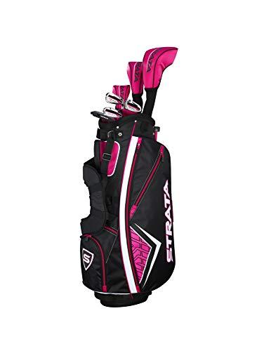 Callaway Women's Strata Complete Golf Set (11-Piece, Left Hand, Graphite)