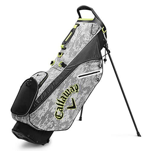 Callaway Golf 2020 Hyperlite Zero Lightweight Stand Bag (Digi Camo, Double Strap)
