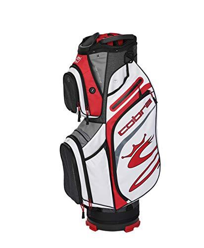 Cobra Golf 2020 Ultralight Cart Bag (Black-Red-White)