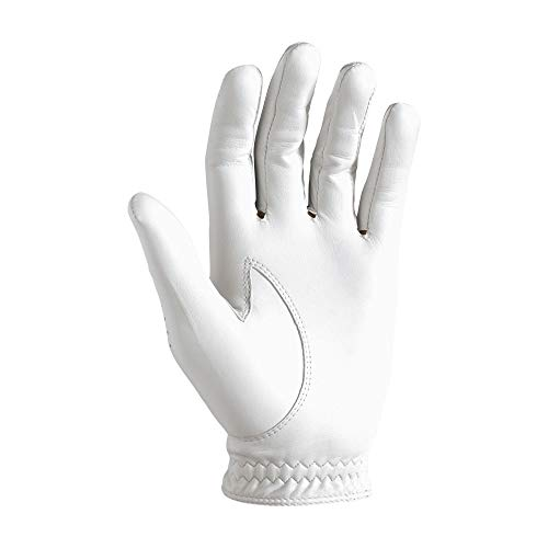FootJoy Men's Pure Touch Limited Golf Gloves White Medium/Large, Worn on Left Hand