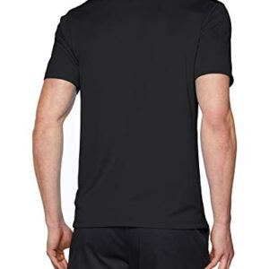 Nike Men's Dry Victory Solid Polo Golf Shirt, Black/Cool Grey, Large