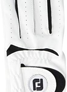 FootJoy Junior Golf Glove, White Small, Worn on Left Hand