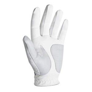 FootJoy Men's WeatherSof Golf Glove White Large, Worn on Left Hand