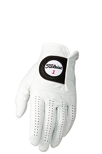 Titleist Players Mens LH Pearl, White(Medium – Large, Worn on Left Hand)