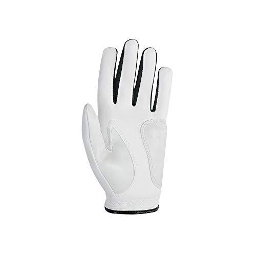 FootJoy Junior Golf Glove, White Small, Worn on Left Hand