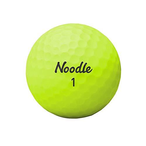 TaylorMade 2018 Noodle Neon Matte Lime Green Golf Ball (One Dozen)