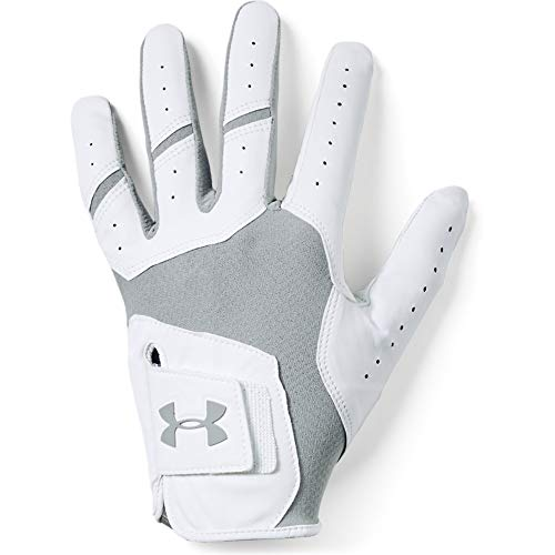 Under Armour Men's UA Iso-Chill Golf Gloves , Steel (035)/Steel , Left Hand X-Large