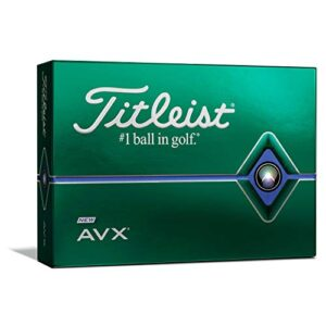 Titleist AVX Golf Balls, White, (One Dozen)