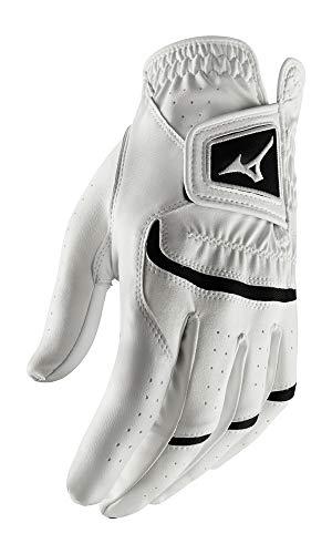 Mizuno 2020 Elite Golf Glove White/Black, X-Large, Left Hand