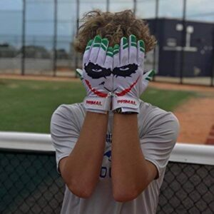 "Primal Baseball ""SMILEY"" Baseball Batting Gloves (Small)"