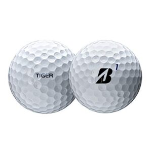 PlayBetter Bridgestone Golf 2020 Tour B XS Tiger Woods Edition Golf Balls | Multi-Packs (One Dozen)
