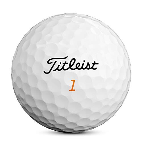 Titleist Velocity Golf Balls, White, (One Dozen)