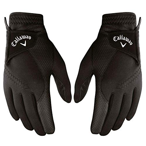 Callaway Golf Thermal Grip, Cold Weather Golf Gloves, Large, 1 Pair, (Left and Right)