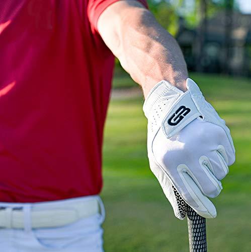 Grip Boost Tour Hyper Touch Men's Golf Glove 2.0 (Medium/Large, Worn on Left Hand)