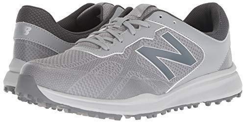 New Balance Men's Breeze Breathable Spikeless Comfort Golf Shoe, Grey, 11D D US