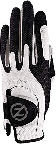 Zero Friction Junior Compression-Fit Synthetic Golf Glove 6Pk, Universal-Fit, Multicolor