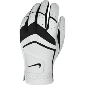 Nike Men's Dura Feel Golf Glove (White), X-Large, Left Hand