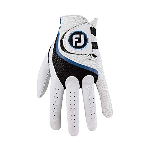 FootJoy Men's Pro FLX Golf Glove Pearl Cadet Medium/Large, Worn on Left Hand