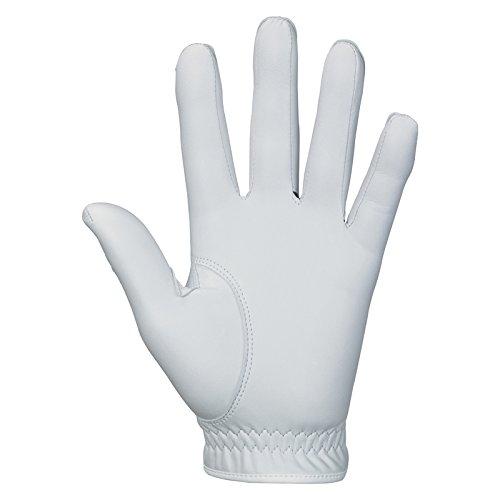 Srixon Mens Z Cabretta Golf Gloves, White, Large, Left Hand
