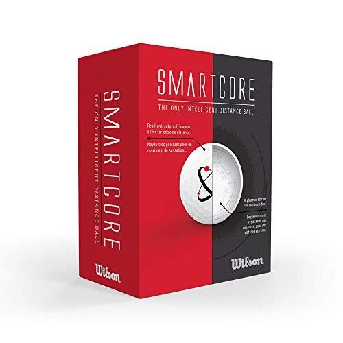 Wilson Smart Core Golf Ball – Pack of 24 (White)