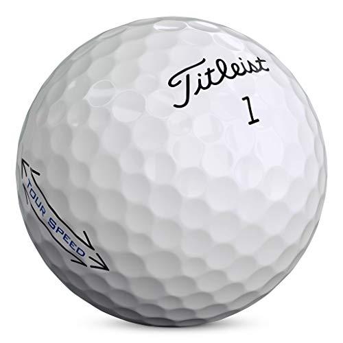 Titleist Tour Speed Golf Balls, White, (One Dozen)