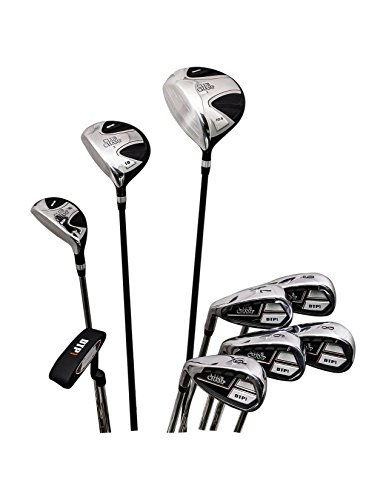 Club Champ Men's Complete DTP (Designed to Play) Golf Club Set, Left Hand-9 pcs