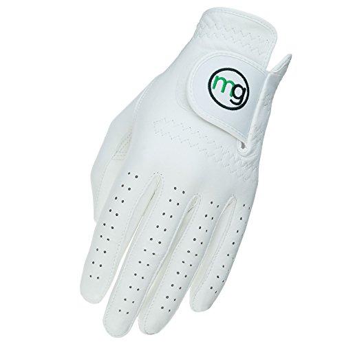 MG Golf DynaGrip All-Cabretta Leather Golf Glove (Men's Regular Sizes) – X-Large
