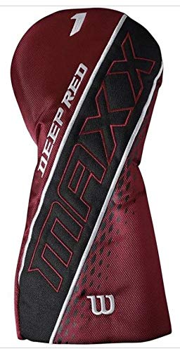 Wilson Golf Deep Red Maxx Titanium Matrix Driver, 13HL Graphite Men's Flex