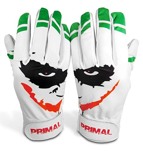 "Primal Baseball ""SMILEY"" Baseball Batting Gloves (Small)"