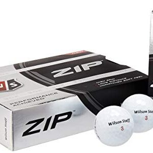Wilson Staff Zip Golf Balls (Pack of 24)
