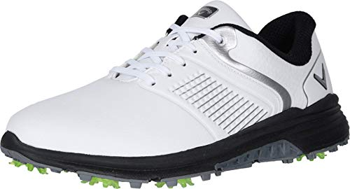 Callaway Men's Solana TRX Golf Shoes, White, 10.5, D