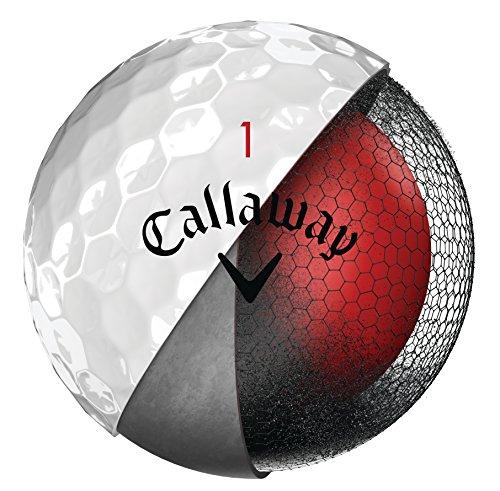 Callaway Golf Chrome Soft Golf Balls, (One Dozen), White (Prior Generation)