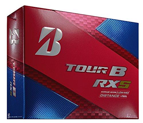 Bridgestone Golf Tour B RXS Golf Balls, White (One Dozen) – 760778083109