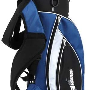 Confidence Golf Mens Power V3 Hybrid Club Set & Stand Bag Lefty