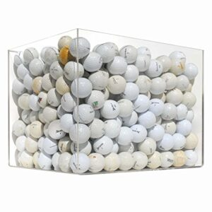 100 Ball Mesh Bag Hit Away Practice Used Golf Balls