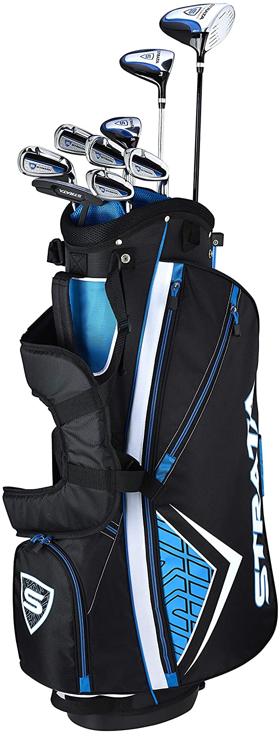 """STRATA Men's Golf Packaged Sets</h1><div class=""""star-rating""""><span style=""""width:100%""""><strong itemprop=""""ratingValue"""" class=""""rating"""">5</strong> out of 5</span></div>"""