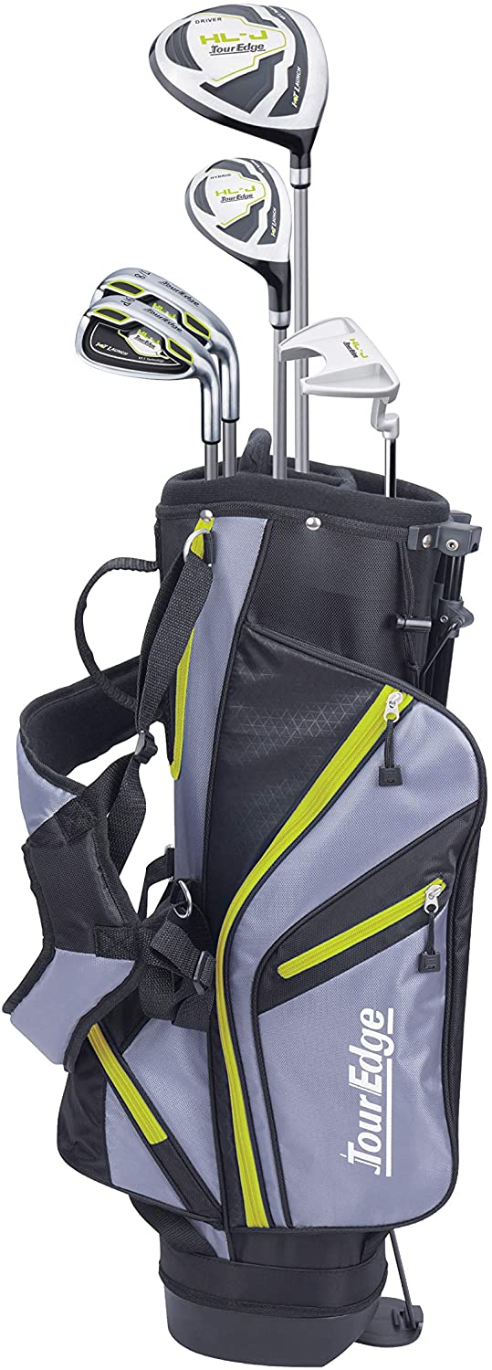 "Tour Edge HL-J Junior Complete Golf Set w/ Bag (Multiple Sizes)</h1><div class=""star-rating""><span style=""width:100%""><strong itemprop=""ratingValue"" class=""rating"">5</strong> out of 5</span></div>"