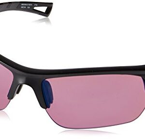 Under Armour Octane Wrap Sunglasses, Satin Black/UA Tuned Golf, M/L