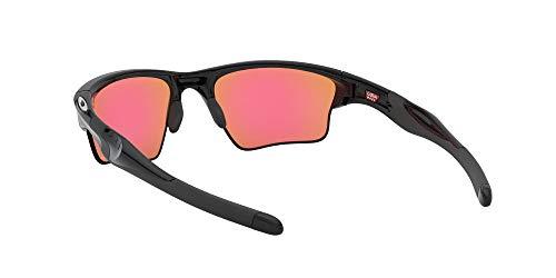 Oakley Men's Half Jacket 2.0 Rectangular Sunglasses, Prizm Golf Lens , Polished Black