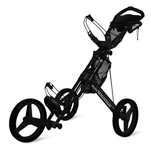 Sun Mountain Speed Cart Gx Push Cart Black/Black, Large