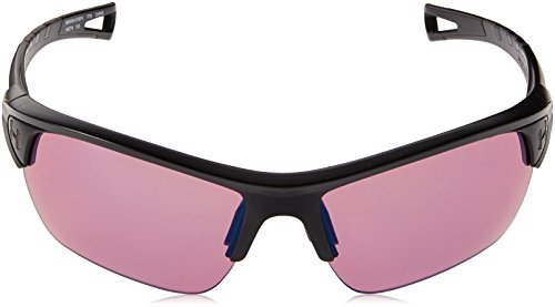 Under Armour Octane Wrap Sunglasses, Satin Black/UA Tuned Golf, M/L