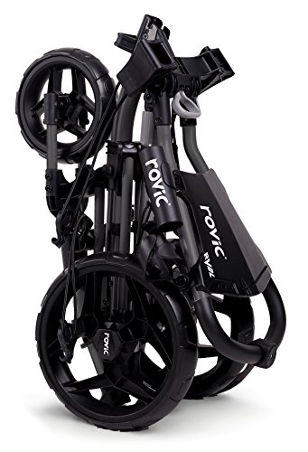 Rovic Clicgear RV2L Golf Push Cart (Charcoal/Black)