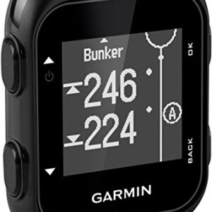 Garmin Approach G10, Compact and Handheld Golf GPS with 1.3-inch Display, Black (010-01959-00)