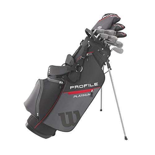 Wilson Golf Profile Platinum Package Set, Men's Right Handed, Tall Carry